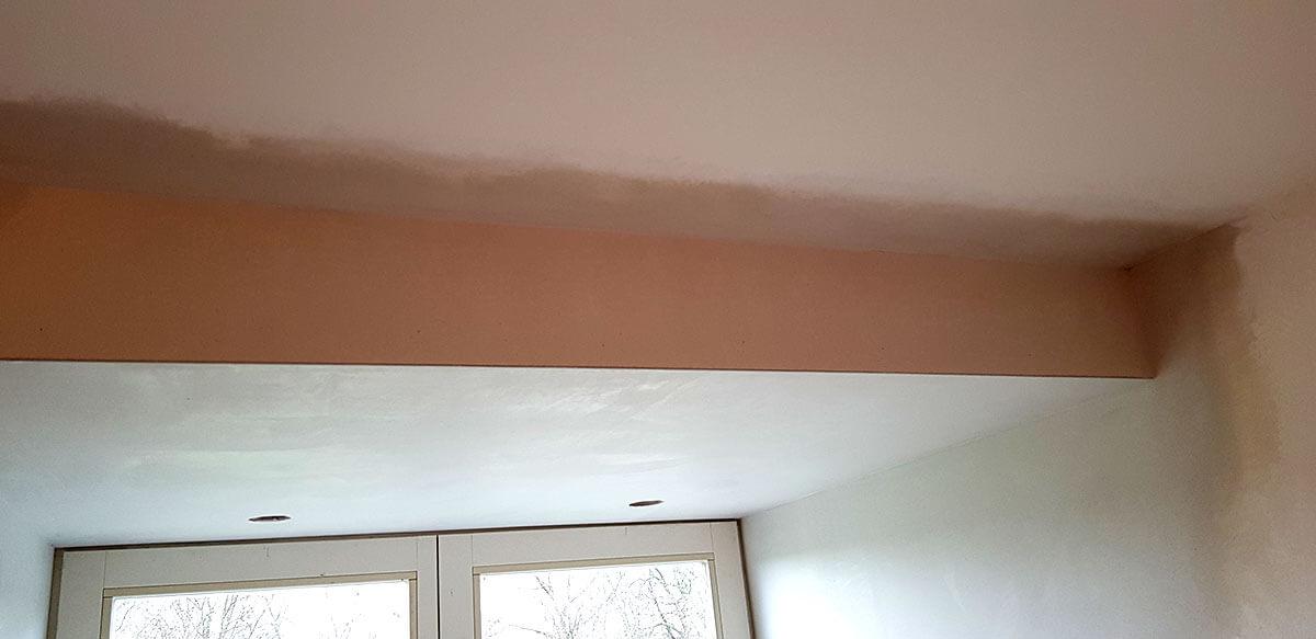 Stucwerk verlaagd plafond