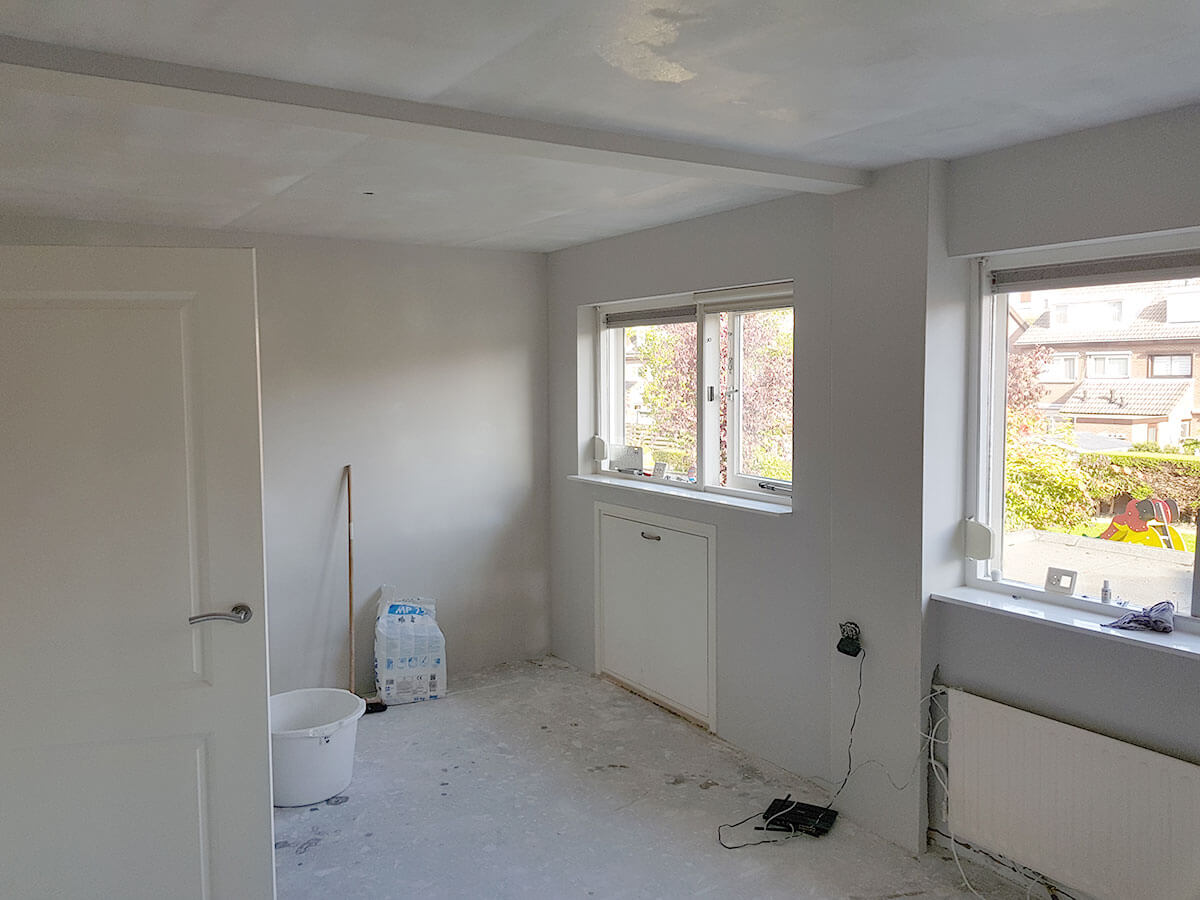 Stucwerk slaapkamer